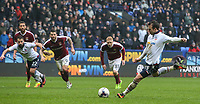 Bolton Wanderers' Adam Le Fondre scores his sides first goal from the penalty spot<br /> <br /> Photographer Alex Dodd/CameraSport<br /> <br /> The EFL Sky Bet League One - Bolton Wanderers v Northampton Town - Saturday 18th March 2017 - Macron Stadium - Bolton<br /> <br /> World Copyright &copy; 2017 CameraSport. All rights reserved. 43 Linden Ave. Countesthorpe. Leicester. England. LE8 5PG - Tel: +44 (0) 116 277 4147 - admin@camerasport.com - www.camerasport.com