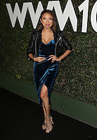 Los Angeles, CA - NOVEMBER 02: Jeannie Mai at The Who What Wear 10th Anniversary #WWW10 Experience At W Los Angeles in Who What Wear Store, California on October 29, 2016. Credit: Faye Sadou/MediaPunch