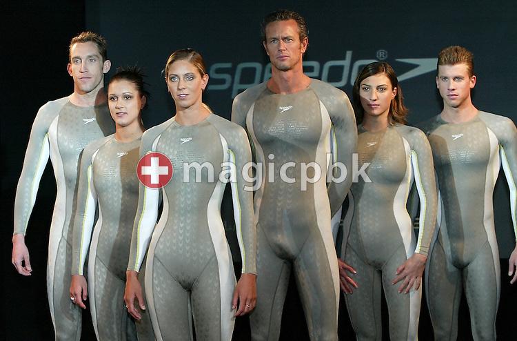 2004 Launch Speedo FASTSKIN FSII Swim Suit in London