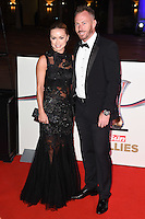 Ola Jordan &amp; husband James Jordan at The Sun Military Awards 2016 (The Millies) at The Guildhall, London. <br /> December 14, 2016<br /> Picture: Steve Vas/Featureflash/SilverHub 0208 004 5359/ 07711 972644 Editors@silverhubmedia.com