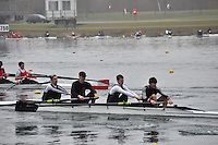 005 DartTotnesRC SEN.4‐..Marlow Regatta Committee Thames Valley Trial Head. 1900m at Dorney Lake/Eton College Rowing Centre, Dorney, Buckinghamshire. Sunday 29 January 2012. Run over three divisions.