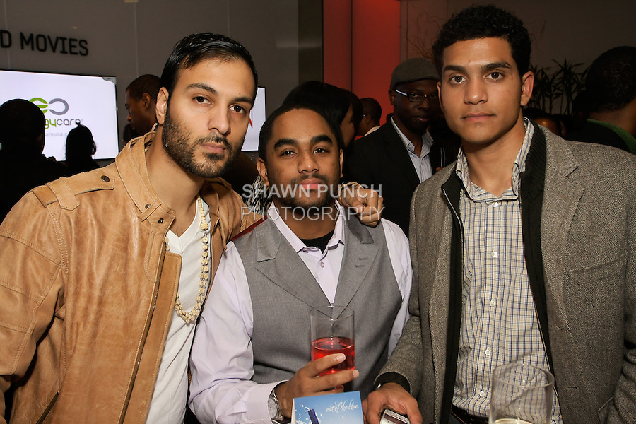 Guests attend the Aeon Magazine Launch Party, at the Samsung Experience in the Time Warner Center,  November 15, 2011.