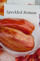 Speckled Roman Heirloom Tomato