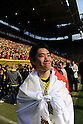 Shinji Kagawa (Dortmund), MAY 14th, 2011 - Football : Shinji Kagawa of Dortmund celebrates after the Bundesliga match between Borussia Dortmund 3-1 Eintracht Frankfurt at the Signal Iduna Park in Dortmund, Germany. (Photo by FAR EAST PRESS/AFLO)