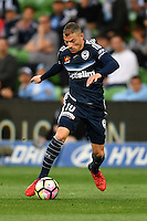 Melbourne, 17 December 2016 - JAMES TROISI (10) of the Victory runs with the ball in the round 11 match of the A-League between Melbourne City and Melbourne Victory at AAMI Park, Melbourne, Australia. Victory won 2-1 (Photo Sydney Low / sydlow.com)