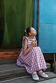 Die behinderte Assylzhan Taitenowa auf dem Grundstück ihrer Eltern in Semej (ehem.Semipalatinsk)  . Im kasachischen Semipalatinsk führte die Sowjetunion Atomwaffentests durch. Bis heute gibt es Kinder dort, die  mit schweren Behinderungen zur Welt kommen. / The disabled Assylzhan Taitenowa on the property of her parents in Semej (former Semipalatinsk). In Semipalatinsk in Kazakhstan the Soviet Union's tested nuclear weapons. Until today there are children there which were born with severe disabilities.