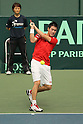 Kei Nishikori (JPN), JULY 8, 2011 - Tennis : Davis Cup Asia/Oceania Group1 2nd Round match Japan 1-1 Uzbekistan at Bourbon Beansdome, Hyogo, Japan. (Photo by Akihiro Sugimoto/AFLO SPORT) [1080]