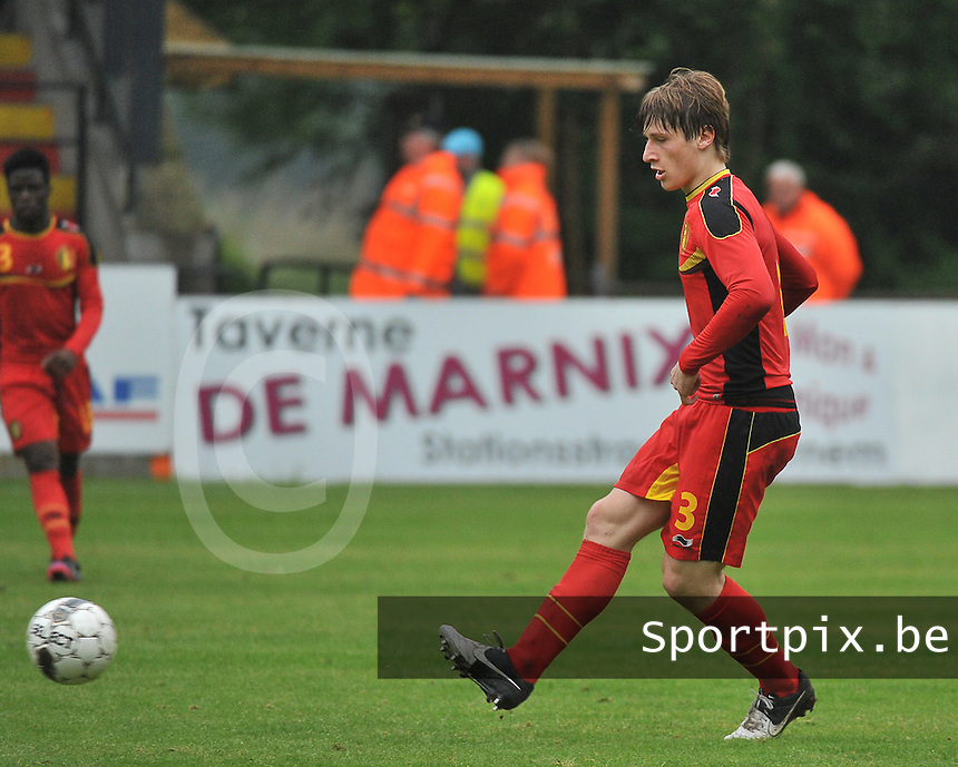 Georgia U19 - Belgium U19 : Gilles Ruyssen<br /> foto DAVID CATRY / Nikonpro.be