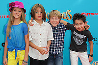 UNIVERSAL CITY, CA, USA - SEPTEMBER 21: Lizzy Greene, Mace Coronel, Casey Simpson, Aidan Gallagher at the Los Angeles Premiere Of Focus Features' 'The Boxtrolls' held at Universal CityWalk on September 21, 2014 in Universal City, California, United States. (Photo by Celebrity Monitor)