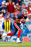 9 October 2005: Jonathan Smith, wide receiver for the Buffalo Bills, rushes upfield during the opening play kickoff return against the Miami Dolphins on October 9, 2005 at Ralph Wilson Stadium, in Orchard Park, NY. The Bills defeated the long rivaled Dolphins 20-14. ..Mandatory Photo Credit: Ed Wolfstein