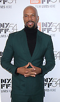 "NEW YORK, NY-September 30: Common at 54th New York Film Festival - Opening Night Gala Presentation And ""13th"" World Premiere at Alice Tully Hall at Lincoln Center in New York. September 30, 2016. Credit:RW/MediaPunch"