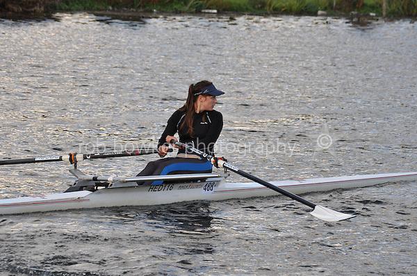 488 HED .Reading Rowing Club Small Boats Head 2011. Tilehurst to Caversham 3,300m downstream. Sunday 16.10.2011