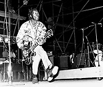 Chuck Berry in late 1960's.© Chris Walter.