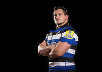 Shaun Knight poses for a portrait at a Bath Rugby photocall. Bath Rugby Photocall on November 22, 2016 at Farleigh House in Bath, England. Photo by: Rogan Thomson / JMP / Onside Images