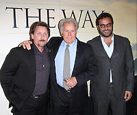 Emilio Estevez; Martin Sheen; David Alexanian The Way screening, BFI Southbank, London, UK, 21 February 2011:  Contact: Ian@Piqtured.com +44(0)791 626 2580 (Picture by Richard Goldschmidt)