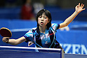 Ayane Morita, JANUARY 20, 2011 - Table Tennis : All Japan Table Tennis Championships, Women's Singles at Tokyo Metropolitan Gymnasium, Tokyo, Japan. (Photo by Daiju Kitamura/AFLO SPORT) [1045]..