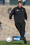 27 November 2009: North Carolina assistant coach Chris Ducar. The University of North Carolina Tar Heels defeated the Wake Forest University Demon Deacons 5-2 at Fetzer Field in Chapel Hill, North Carolina in an NCAA Division I Women's Soccer Tournament Quarterfinal game.