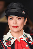 LONDON, UK. November 28, 2016: Salma Hayek at the &quot;I Am Bolt&quot; World Premiere at the Odeon Leicester Square, London.<br /> Picture: Steve Vas/Featureflash/SilverHub 0208 004 5359/ 07711 972644 Editors@silverhubmedia.com