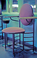 F.L. Wright: S.C. Johnson & Son. Chair.  Photo '77.