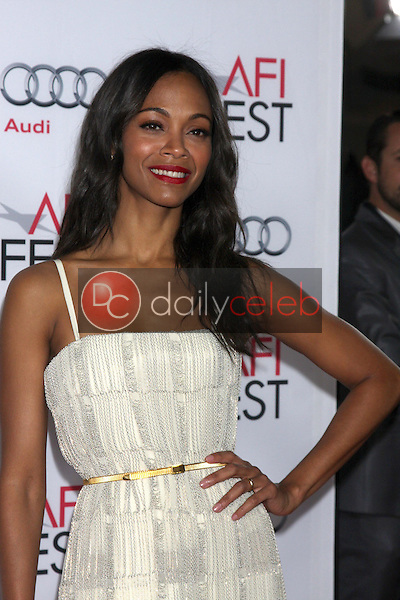 Zoe Saldana<br />