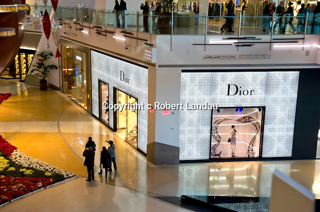 Dior boutique at Crystals retail and entertainment complex at CityCenter in Las Vegas, Nevada