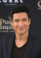 """HOLLYWOOD, CA - May 18: Mario Lopez, At Premiere Of Disney's """"Pirates Of The Caribbean: Dead Men Tell No Tales"""" At Dolby Theatre In California on May 18, 2017. Credit: FS/MediaPunch"""