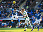 St Johnstone v Celtic&hellip;.McDiarmid Park, Perth.. 11.05.16<br />Steven MacLean and Erik Sviatchenko<br />Picture by Graeme Hart.<br />Copyright Perthshire Picture Agency<br />Tel: 01738 623350  Mobile: 07990 594431