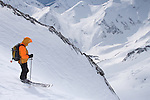 CMH - Steep Camp 2009 - Ski extrème en couloir - Val Halla - 2920 m - long 1160 - Face Sud Est - Colombie Britanique, Canada, Amérique du Nord, North America