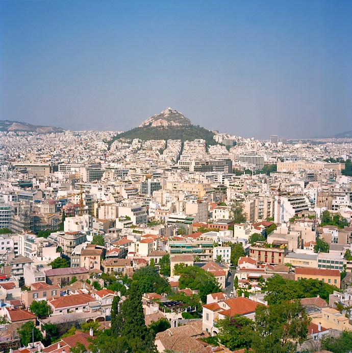 Lycabettus Hill, Athens, Greece