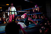 Luchadoras 2, Motorco Music Hall, Durham, Saturday, January 21, 2012.