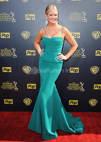 BURBANK, CA - APRIL 26:  Nancy O'Dell at the 42nd Annual Daytime Emmy Awards at Warner Brothers Studios on April 26, 2015 in Burbank, California. Credit: PGSK/MediaPunch