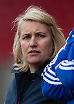 Doncaster Rovers Belles 1 Chelsea Ladies 4, 20/03/2016. Keepmoat Stadium, Womens FA Cup. Chelsea Ladies Coach Emma Hayes. Photo by Paul Thompson.