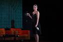 Edinburgh, UK. 09.08.2012. Opera North presents THE MAKROPULOS CASE at the Festival Theatre, as part of the Edinburgh International Festival. Picture shows: Ylva Kihlberg (as Emilia Marty).