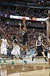01 APRIL 2012:  Baylor University takes on Stanford University during the Division I Women's Final Four semifinals at the Pepsi Center in Denver, CO.  Jamie Schwaberow/NCAA Photos