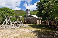 Reef Bay Plantation machinery<br /> Virgin Islands National Park<br /> St. John, U.S. Virgin Islands