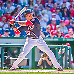 23 May 2015: Washington Nationals shortstop Ian Desmond in action against the Philadelphia Phillies at Nationals Park in Washington, DC. The Phillies defeated the Nationals 8-1 in the second game of their 3-game weekend series. Mandatory Credit: Ed Wolfstein Photo *** RAW (NEF) Image File Available ***