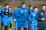St Johnstone Training&hellip;03.02.17<br />Graham Cummins pictured during training this morning at McDiarmid Park ahead of Sunday&rsquo;s game against Celtic.<br />Picture by Graeme Hart.<br />Copyright Perthshire Picture Agency<br />Tel: 01738 623350  Mobile: 07990 594431