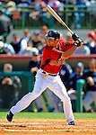 2 March 2009: Houston Astros' second baseman Matt Kata in action during a Spring Training game against the New York Yankees at Osceola County Stadium in Kissimmee, Florida. The teams played to a 5-5, 9-inning tie. Mandatory Photo Credit: Ed Wolfstein Photo