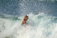 Adrian Buchan (AUS) February 19th 2010. Kirra and Snapper Rocks, Queensland, Australia. A south-easterly ground swell produced excellent waves along the Superbank starting with a free surfing at Snapper Rocks Photo: joliphotos.com