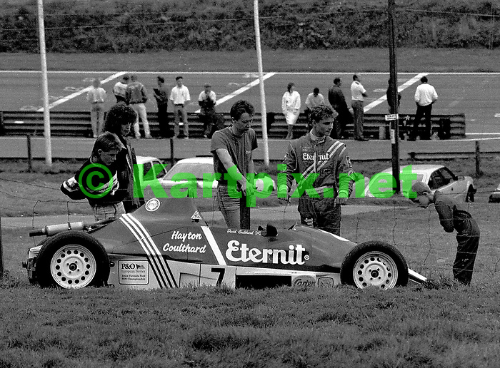 David Coulthard, Formula Ford, Cadwell Park,.