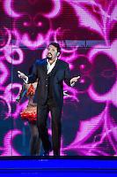 PESCARA (PE) 31/08/2012 - ENRICO BRIGNANO  PRESENTA A PESCARA LO SPETTACOLO TUTTO SUO PADRE. FOTO DI LORETO ADAMO