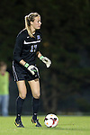 31 October 2013: Duke's Meghan Thomas. The University of North Carolina Tar Heels hosted the Duke University Blue Devils at Fetzer Field in Chapel Hill, NC in a 2013 NCAA Division I Women's Soccer match. North Carolina won the game 3-0.