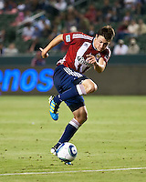 CARSON, CA – June 18, 2011: Chivas USA midfielder Ben Zemanski (21) during the match between Chivas USA and FC Dallas at the Home Depot Center in Carson, California. Final score Chivas USA 1, FC Dallas 2.