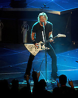 Metallica performs at the LA Forum