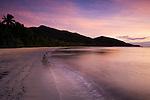 Cape Tribulation Beach on the Daintree coast, Queensland, AUSTRALIA