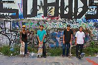 Skate boarding in Manila, Philippines