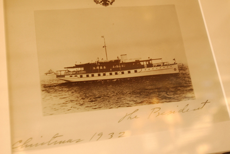 Photo of the U.S.S. Sequoia, Presidential Yacht, from 1932.