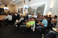 POLITIEK: JOURE: GEMEENTEHUIS: 26-08-2015, Gemeenteraad de Fryske Marren, kwestie asielzoekers Balk, ©foto Martin de Jong