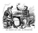 Abe Lincoln's last card; Or, rouge-et-noir.