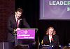 UKIP <br /> Leadership hustings <br /> at the Emanuel Centre, London, Great Britain <br /> 1st November 2016 <br /> <br /> the first leadership hustings before the election on 28th November 2016 <br /> <br /> Suzanne Evans <br /> <br /> <br /> John Rees-Evans<br /> <br /> <br /> <br /> <br /> Photograph by Elliott Franks <br /> Image licensed to Elliott Franks Photography Services